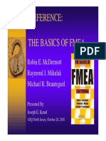 Basics of Fmea(Asq 304