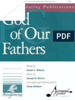 God of Our Fathers (SATB)