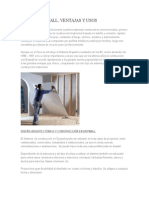 SISTEMAS DRYWALLl Drenajes y Biogas
