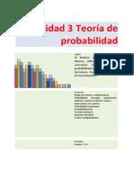 Teoría de probabilidad