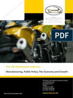 Motorcycle Industry Manufacturing Public Policy