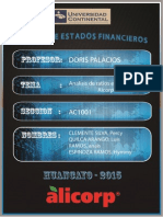 Analisis de Ratios Alicorp(Ee.ff)Final