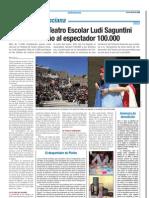 Ludi Saguntini en revista Escuela