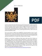 Freemasonry the Spirit of Babylon