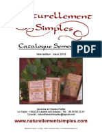 Catalogue Semencatalogue_semences_Naturellement_Simplesces Naturellement Simples