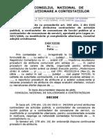 CNSC Tarif de Risc