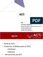 ACTi _presentacion Comercial Nov