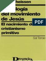 Theissen Gerd - Sociologia Del Movimiento de Jesus