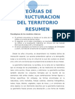 Teorias de Estructuracion Del Territorio-resumen