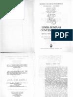 Limba Romana Contemporana - Ion Coteanu
