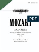 Mozart Clarinet Concert