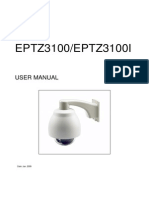 Eptz3100 and Eptz3100i User Manual