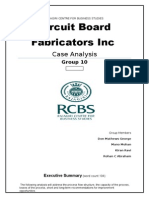 Circuit Board case operations management