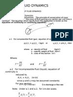 Part I.A -Fundamentals of Fluid Dynamics