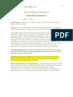 ahe 501 - abridged research plan (g  landon)