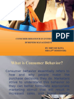 Consumer Behavior in Ibm