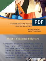 Consumer Behavior in Ibm