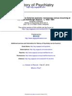 History of Psychiatry 2012 Andrews 6 26