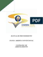 Manual Oserin