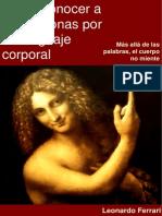 Como Conocer a Las Personas Por Su Lenguaje Corporal - Leonardo Ferrari
