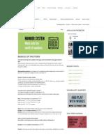 Maths@Wordpandit – Basics of Factors