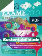 Guia Exame Sustentabilidade 2010