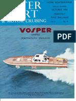 Vospers Water Sport 1962 Magazine Article