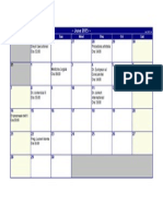 Calendar Sesiune