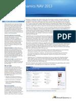 NAV 2013 Preview Fact Sheet