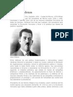 Lázaro Cárdenas y Benito Juarez