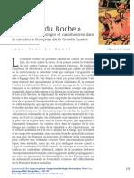 Animalisation, Scatologie Et Cannibalisme Dans La Caricature Française de La Grande Guerre