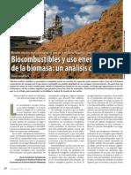 Biocombustibles y Uso Energetico de La Biomasa