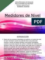 Medidores de Nivel
