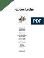 Letras de Canciones Infantiles