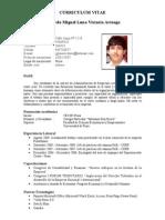 Curriculum Gerardo Miguel Luna Victoria Arteaga[1]