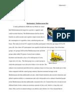 biochemistry- mediterranean diet