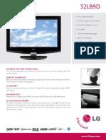 32LB9D Spec Sheet