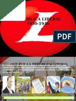 Republica Liberal 1930 1946