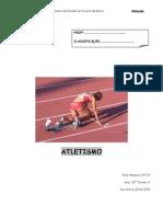 Trabalho de Ed. Física - Atletismo