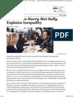 When Harry met Sally (The Atlantic)