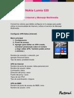 Nokia Lumia 520 Configuraciones