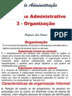 Processo Administrativo - Organização