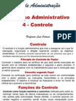 Processo Administrativo -Controle