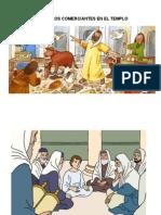 Jesus y Los Comerciantes en El Templo