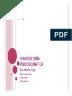ginecologia sicosomatica