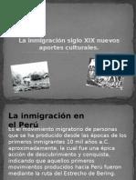 La Inmigración Siglo XIX Nuevos Aportes Culturales