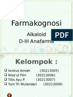 Farmakognosi Alkaloid
