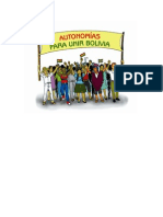 Autonomias Para Unir Bolivia