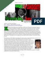 Jon Christian Ryter - The Manchurian Candidate