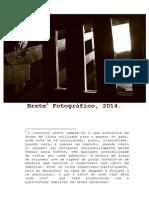 Catálogo Mostra Brete Fotográfico 2014 - CFH-NAF-UFSC COR 1